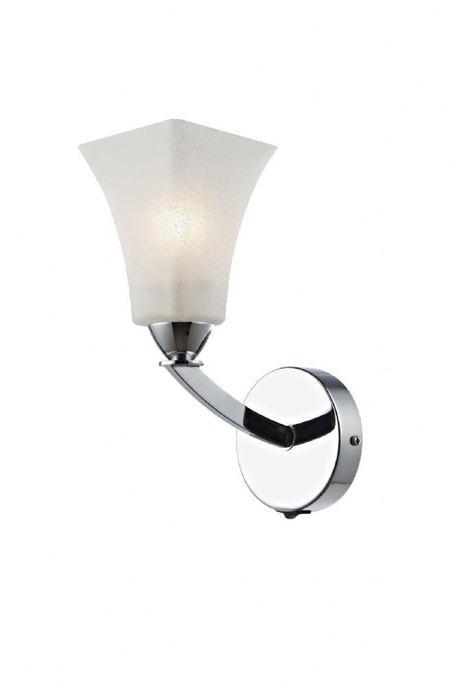 Arlington 1-light Polished Chrome Wall Light (Class 2 Double Insulated) BXARL0750-17